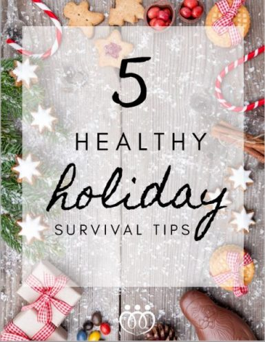 5 Healthy Holiday Tips Cover Image