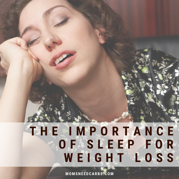 The importance of sleep in weight loss