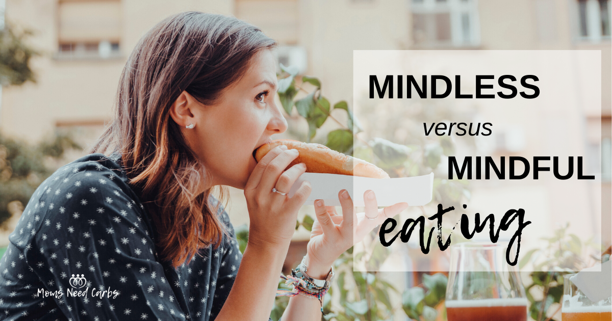 Being aware of the difference between mindless eating versus mindful eating can make all the difference in your weight loss journey